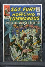 Sgt Fury and His Howling Commandos #17 Marvel Silver Age Comic 1965 Stan Lee 6.0