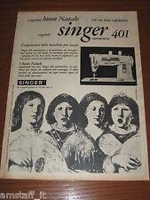 *250=SINGER 401 AUTOMATICA=ANNI '60=PUBBLICITA'=ADVERTISING=WERBUNG=PUBLICITE=