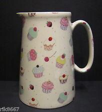 Heron Cross Pottery Cup Cakes 4 Pint English Milk Jug Or A very big (vase)