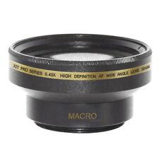 30mm 0.43x Wide Angle Lens + Macro for Sony Handycam DVD650,DCR-SR80,DCR-HC52,US