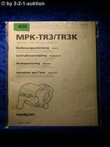 Sony Manual Mpk TR3/TR3K Handycam Navy Pack (#0458)