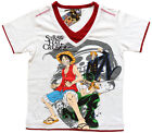 T-SHIRT ONE PIECE - MANGA ANIME - NEUF - TAILLES 9/10 ANS, 10/11 ANS, 11/12 ANS
