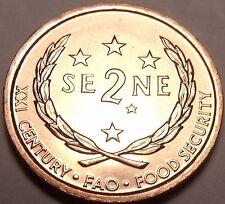 Western Samoa 2000 F.A.O. Issue 2 Sene Gem BU~Free Shipping