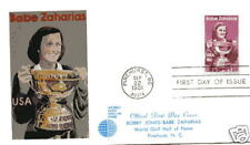 1932 Babe Zaharias Andrews (Full Color) FDC