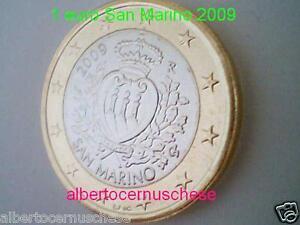 1 euro 2009 San Marino san marin saint marin Сан - Марино 圣马力诺