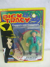 Playmates Dick Tracy Coppers and Gansters Error Card Shoulders on Flattop Card