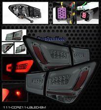 Pair Smoke Light Bar Style LED Tail Lamps Lights Chevy Cruze 11-15 & 16 Cruz LTD