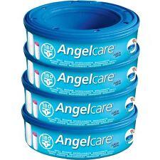 4 X Angelcare Windel Entsorgung System Refill Kassetten Wickel Schlafsäcke Sacks