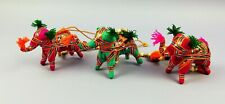 Indian Elephant Mobile - Handmade with a Bell