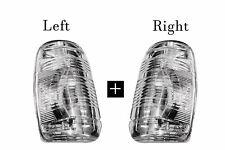 Ford Transit Mirror Turned Signals Indicator Lens White LH RH Set 2014  2018