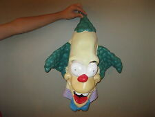 The Simpsons Krusty the Clown Rubber Halloween Mask 2002 FOX Matt Groening