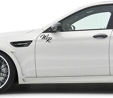 Initiales noms personnaliser lettres voiture autocollant sticker film Logo