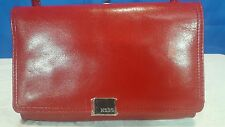 HOBO ORIGINAL RITA CLUTCH FOLDOVER CROSSBODY LEATHER HANDBAG RED SMALL NEW! $158