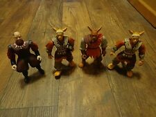 LOT OF 1997 WARRIORS OF VIRTUE FIGURES (LOOK)