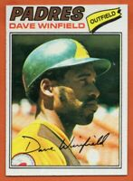 1977 Topps #390 Dave Winfield NEAR MINT/MINT+ San Diego Padres FREE SHIPPING