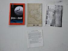 Notice/manuel/carte du monde pour Aces of the deep SIERRA Big box PC FR