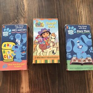 Music Concerts Blue S Clues Vhs Tapes For Sale Ebay