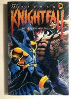BATMAN Knightfall part two Who Rules the Night (1993) DC Comics TPB 1st FINE-