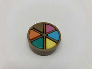 Trivial Pursuit Board Game Replacement Part BROWN MOVER 6 Wedge Pieces Pie Token