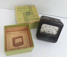 GE General Electric Light Meter w/ ORIGINAL BOX & INSTRUCTIONS Vintage VTG