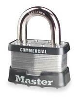 "MASTER LOCK 5KA-A297 Keyed Padlock,Alike,2""W"