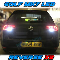 2x Golf MK7 GTD GTI R Reverse Bright White canbus Bulbs 54smd SMD Error Free LED