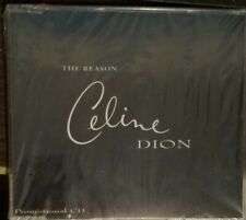 """CELINE DION """"THE REASON"""" PROMO BRAND NEW AND SEALED AUSTRIA"""