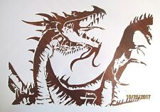 Dragon Mystical Stencil Template Reusable 10 mil Mylar