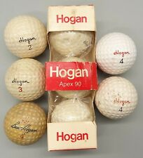 Vintage Ben Hogan Golf Balls: Apex 90, Apex 100,  Apex S 90+, 90+, Advertising
