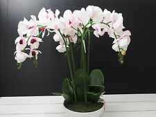 NEW Artificial Orchid plant in Pot Real touch Home Office Garden Decor-6035P
