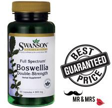 Swanson Full Spectrum Boswellia Double Strength 800mg x 60 Capsules - BEST PRICE