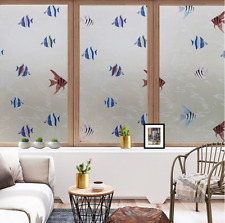Frosted Glass Door Window Film Privacy  Static Cling Glass Stickers Decorative