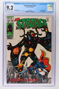 Doctor Strange #180 - Marvel 1969 CGC 9.2 Eternity Appearance. Doctor Strange pi