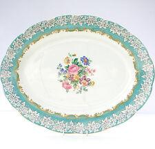 Vintage Royal Albert Incanto BONE CHINA grande floreale ovale piatto piatto