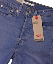 Levi's Women's Wedgie Skinny Jeans High Rise Snug Through Hip And Thigh RRP £ 95