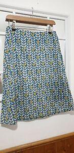 Seasalt Floral Cotton Potter Skirt uk 10