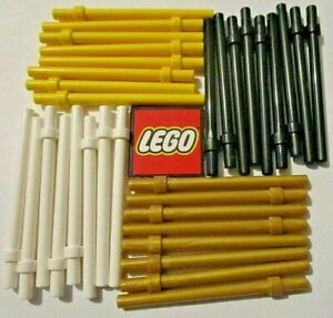 LEGO Bar 6 with Thick Stop (Packs of 2) - Choose Colour - 18274, 28921, 63965