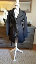New york and company trench coat black