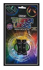 LED Light Up Flashing Shoelaces With Flashing Action Brand New