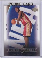 LEBRON JAMES 2003 NBA #1 Draft Pick ROOKIE CARD Basketball RC Cleveland Cavs!