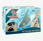 Shark Attack Electric Fin-RC Speedboat 2.4GHz Simulation Shark Toy for Pool-NEW!