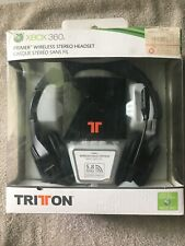 Tritton Primer Wireless Headphone Stereo Headset - Xbox 360 !MISSING WIRES!