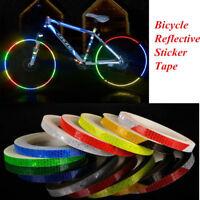 Reflektierende Aufkleber Motorrad Fahrrad Reflektor Sicherheit Felge Aufkleber
