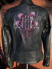 Harley Davidson CYCLE SEDUCTION Leather Jacket ROSE 3 in 1 97041-08VW XS Women