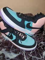 "NIKE AIR FORCE 1 HIGH 07 LV8 ""HAVE A NIKE DAY"" JADE-BLACK SZ 11 [CI2306-300]"