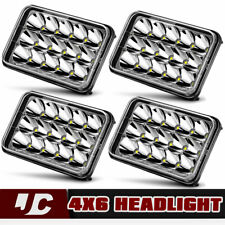 4X Peterbilt 378 357 379 LED Headlights Bulb Hi/Lo Sealed Beam For Kenworth T800