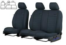 FORD TRANSIT CUSTOM 2015 2016 2017 2018 2019 TAILORED FABRIC SEAT COVERS