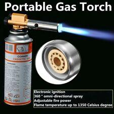 Flame Jet Gas Butane Torch Gun Portable Welding Blow Burner Solder Iron Lighter