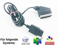 RGB Scart Kabel für Nintendo 64 Gamecube Super Nintendo N64 ★ SNES ★ GC ★ GEBRAU