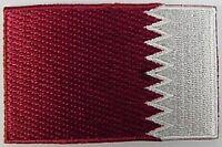 Katar Aufnäher gestickt,Flagge Fahne,Patch,Aufbügler,6,5cm,neu